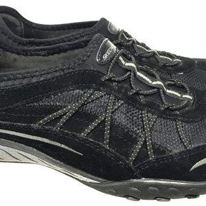 Skechers Women Rubber Shoes Size 7 Slip On Black